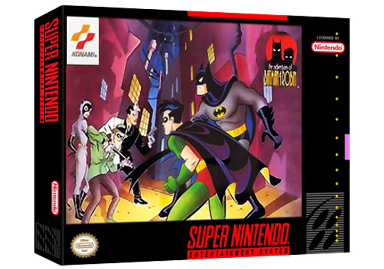 Adventures Of Batman & Robin - Super Nintendo