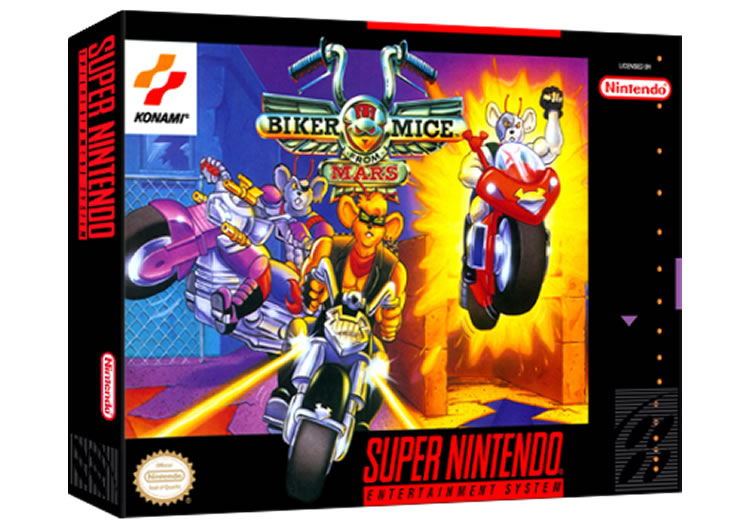 Biker Mice From Mars - Super Nintendo
