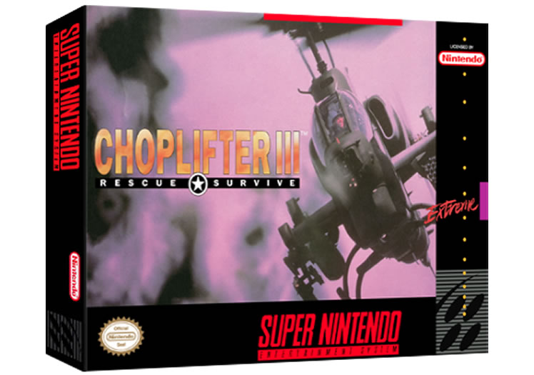 Choplifter 3 - Super Nintendo
