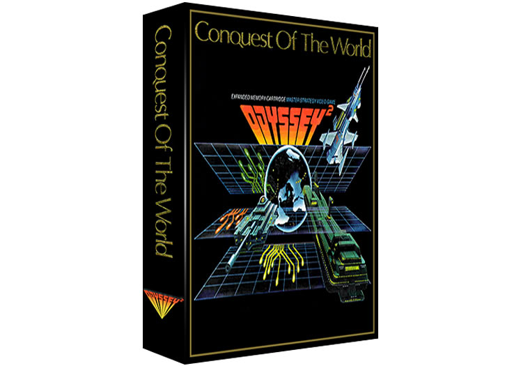 Conquest Of The World - Magnavox Odyssey 2