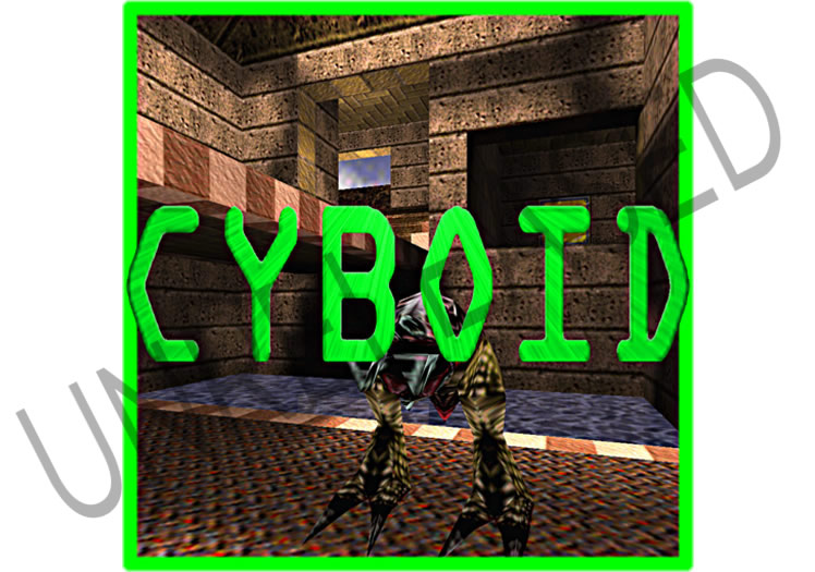 Unreleased Cyboid Debug - iPod Video