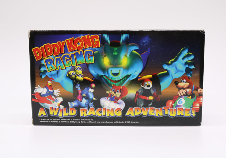 Diddy Kong Racing Promotional Video on VHS!