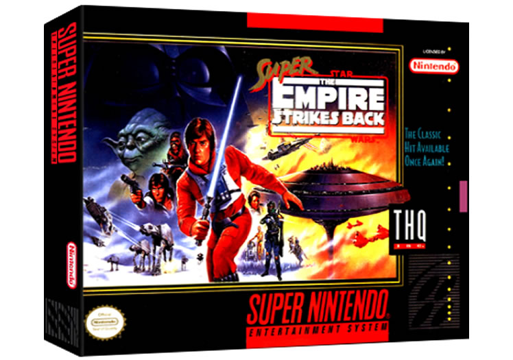Super Star Wars - Empire Strikes Back - Super Nintendo