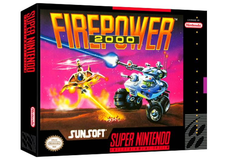 Firepower 2000 - Super Nintendo