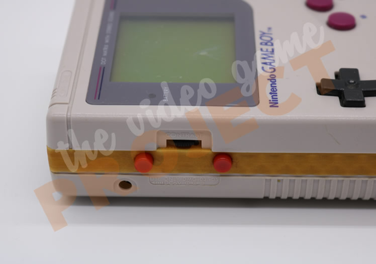 HDMYBOY Limited Edition Game Boy Side 02 Close Up