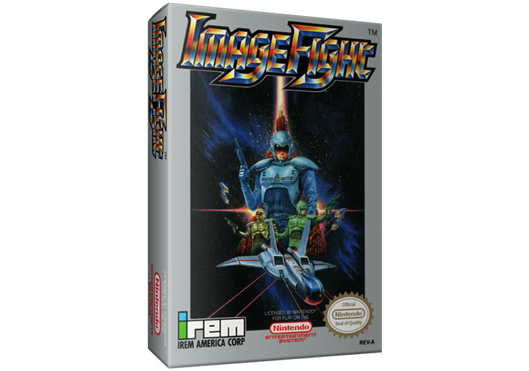 Image Fight - Nintendo Entertainment System