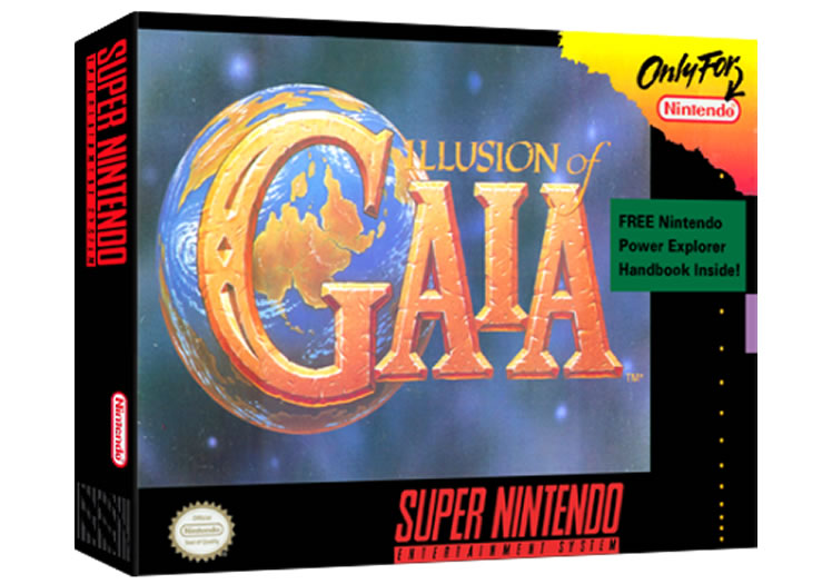 Illusion Of Gaia - Super Nintendo