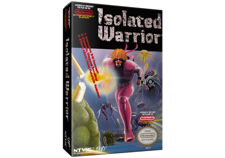 Isolated Warrior - Nintendo Entertainment System