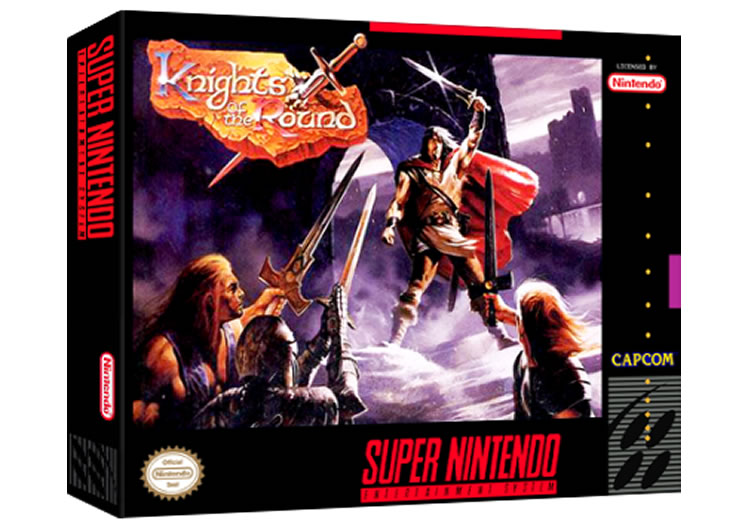 Knights Of The Round - Super Nintendo