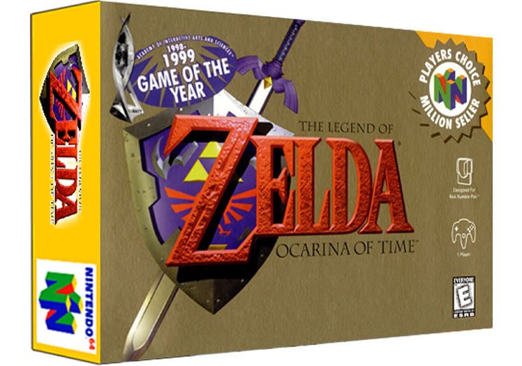 Ocarina Of Time - Nintendo 64