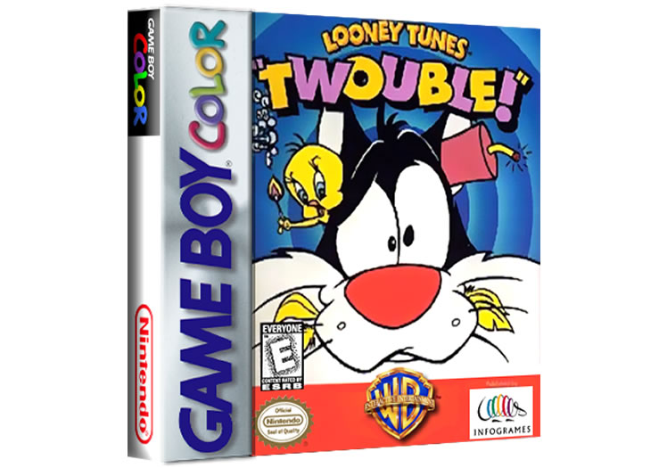 Looney Tunes Twouble - Game Boy Color