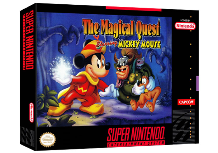 Magical Quest Starring Mickey Mouse - Super Nintendo