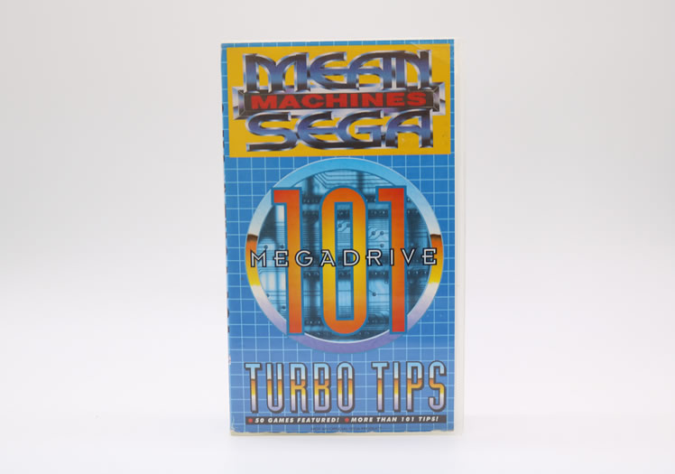 Mega Machines 101 Turbo Tips VHS!