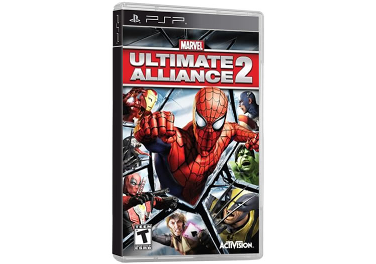 Marvel - Ultimate Alliance 2 - PSP