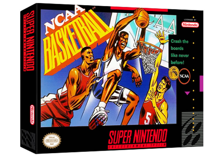NCAA Basketball - Super Nintendo