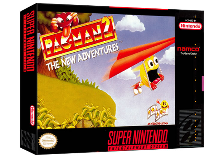 Pac-Man 2 - The New Adventures - Super Nintendo