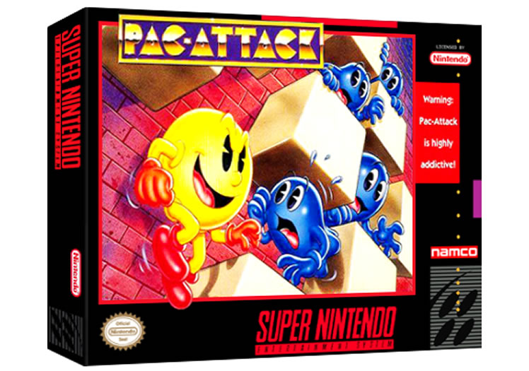 Pac Attack - Super Nintendo