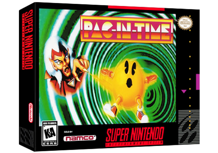 Pac-In-Time - Super Nintendo