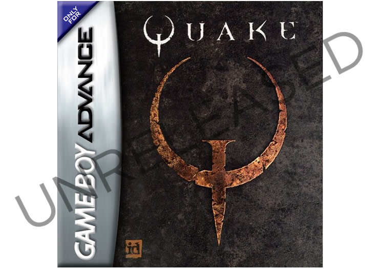 An Unreleased Version Of Quake For The Game Boy Advance
