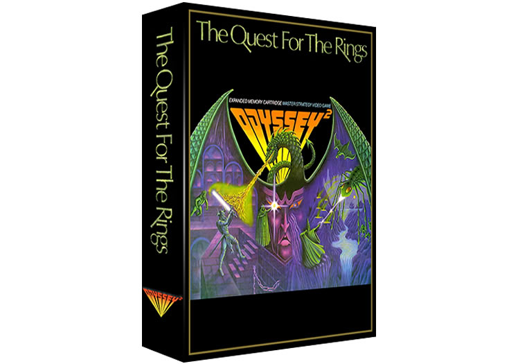 The Quest For The Rings - Magnavox Odyssey 2