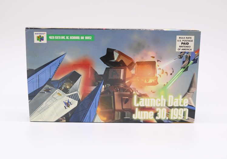 A Star Fox 64 Promotional VHS by Nintendo!