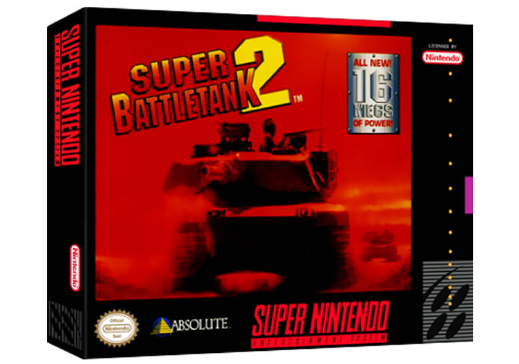 Super BattleTank 2 - Super Nintendo