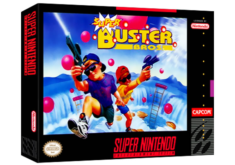 Super Buster Bros. - Super Nintendo