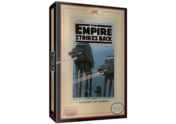 Star Wars: Empire Strikes Back - Nintendo Entertainment System