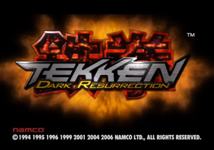 Tekken: Dark Resurrection Press Disc - Intro Sequence