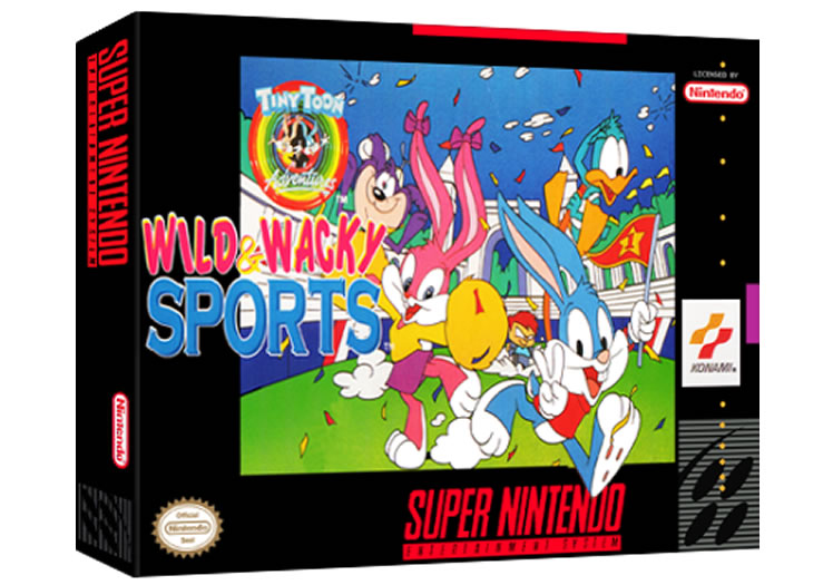Tiny Toons Adventures - Wild & Wacky Sports - Super Nintendo