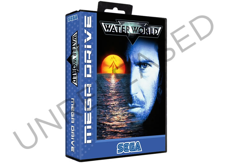 Unreleased Water World - Sega Mega Drive Prototype