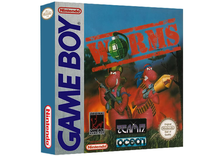 Worms - Game Boy