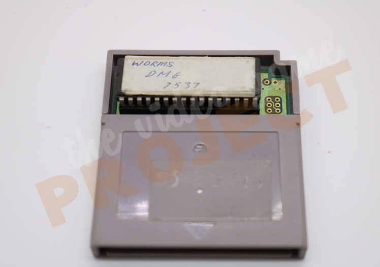 Worms - Game Boy - Front
