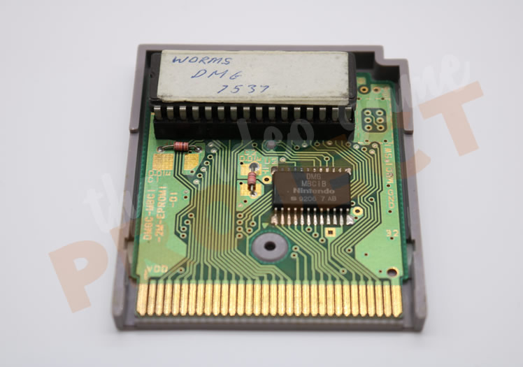 Worms - Game Boy - PCB