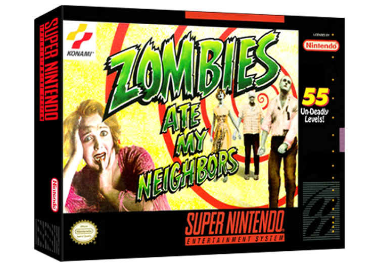 Zombie Ate My Neighbors - Super Nintendo